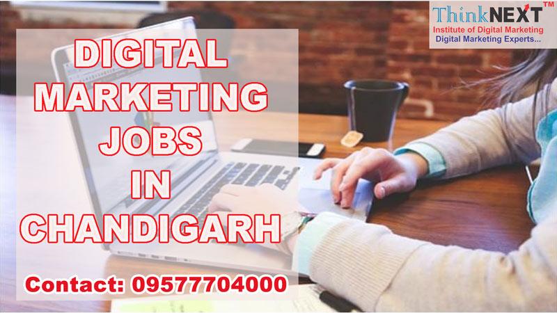 Digital marketing jobs in Chandigarh