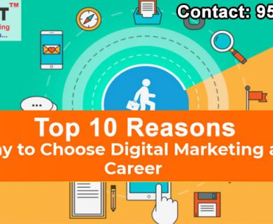 top 10 reasons why to choose digital marketing as a career